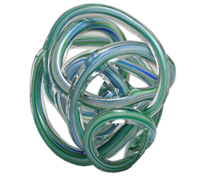 Glass Knot Blue Multicolour
