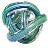 Green Earth Glass Knot Blue Multicolour