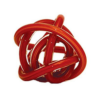Glass Knot Red Multicolour