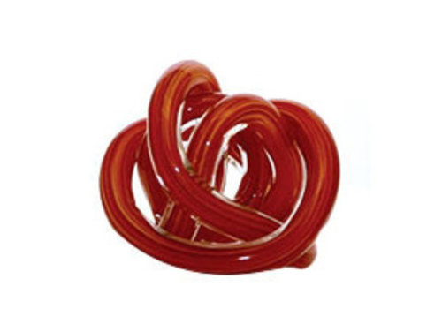 Green Earth Glass Knot Red Multicolour