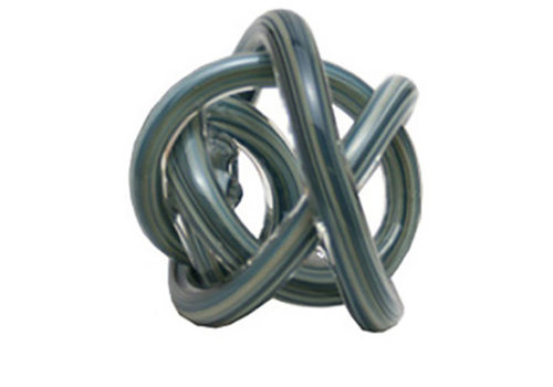 Green Earth Glass Knot Grey