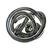 Green Earth Glass Knot Metallic