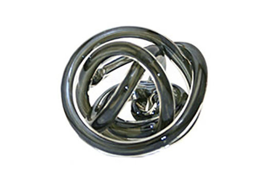 Green Earth Glass Knot Metallic