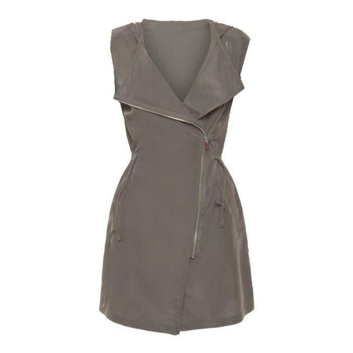 Asymmetrical Zip Front Vest