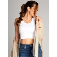 Bamboo Crop Tank Top
