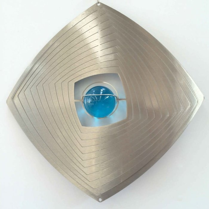 Wind Spinner Stainless Steel 8""