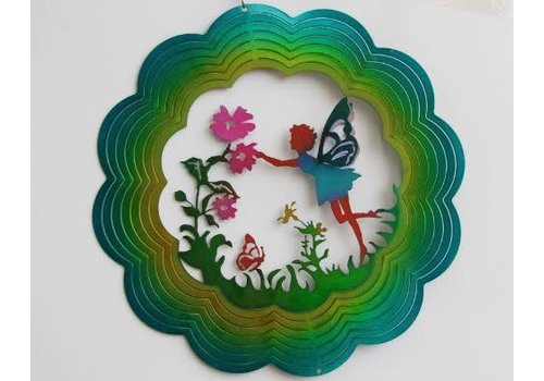 #97-18 Wind Spinners Wind Spinner Fairy 12""