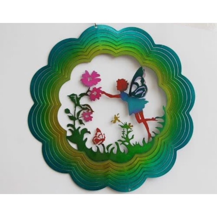 Wind Spinner Fairy 12""