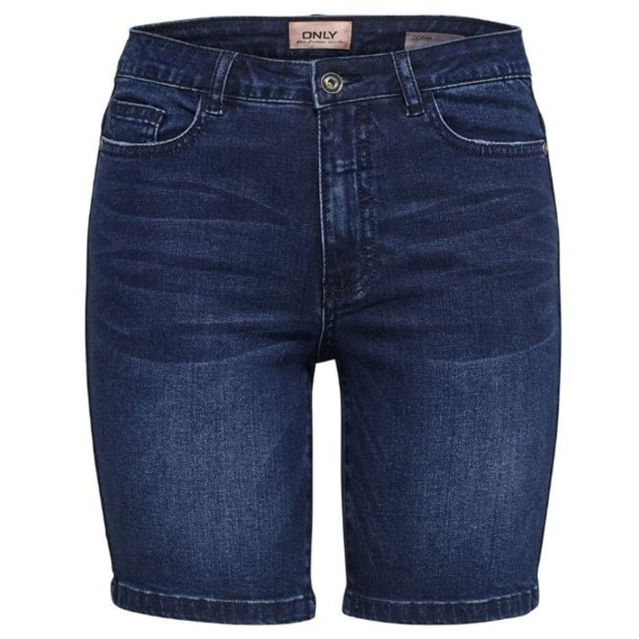 Corin Mid Waist Denim Shorts