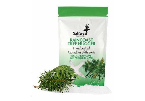 Saltwest Naturals Raincoast Tree Hugger Mineral Sea Soak 70g