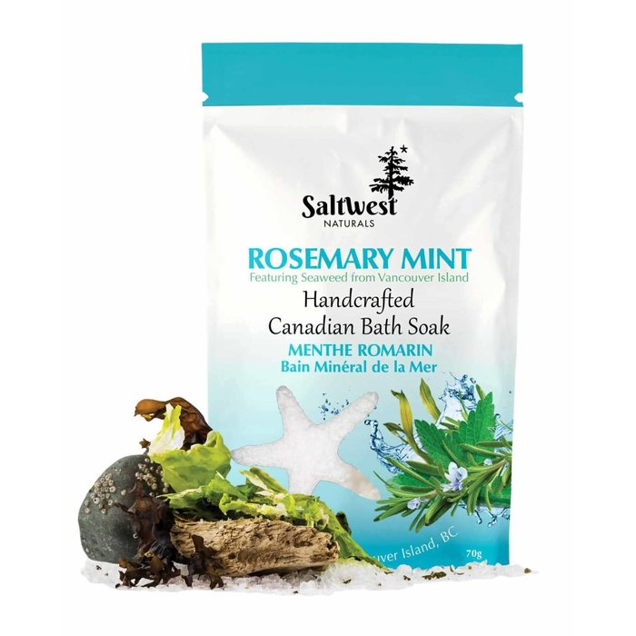 Rosemary Mint With Seaweed Bath Soak 70g