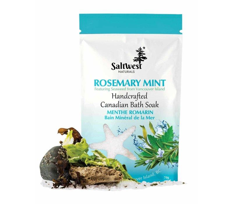 Rosemary Mint With Seaweed Bath Soak 70g