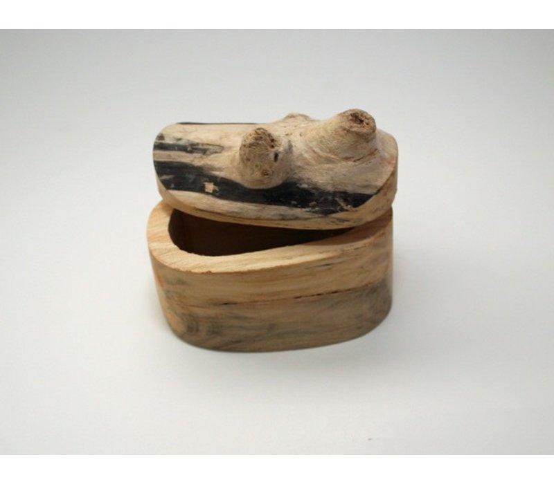 Canadian Juniper Salt Box