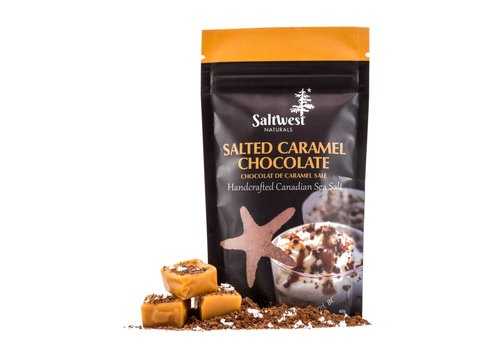 Saltwest Naturals Salted Caramel Chocolate 50g