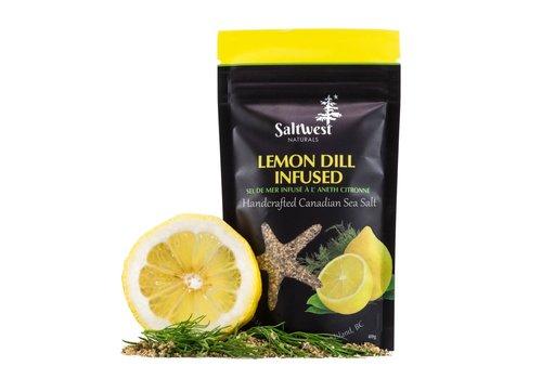 Saltwest Naturals Organic Lemon Dill Infused Sea Salt 40g