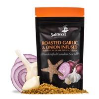 Organic Roasted Garlic and Onion Infused Sea Salt 40g