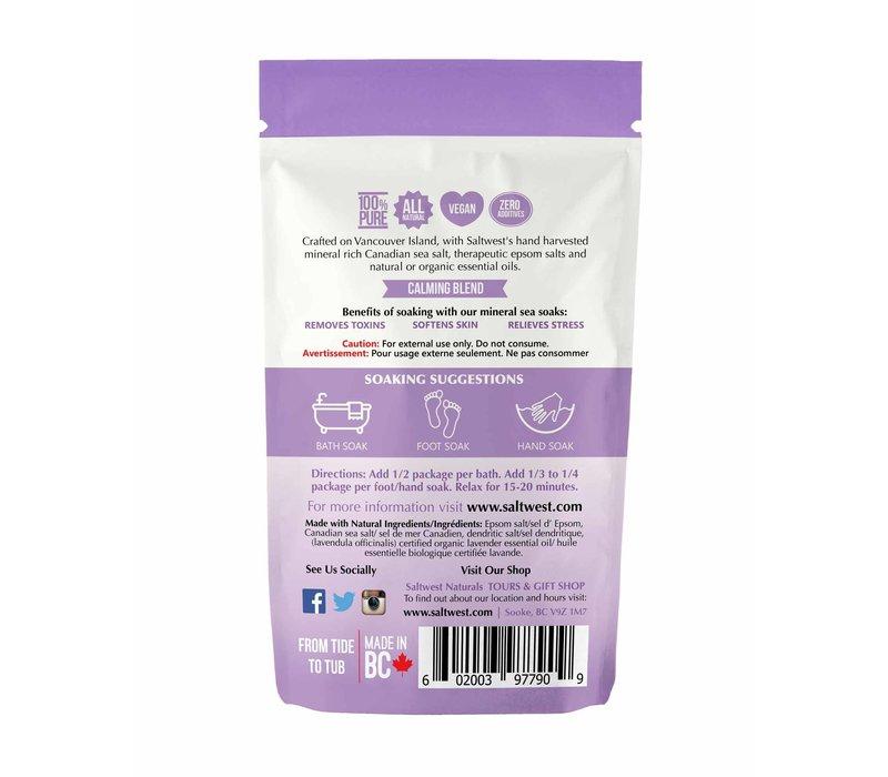 Organic Lazy Lavender Bath Soak 70g