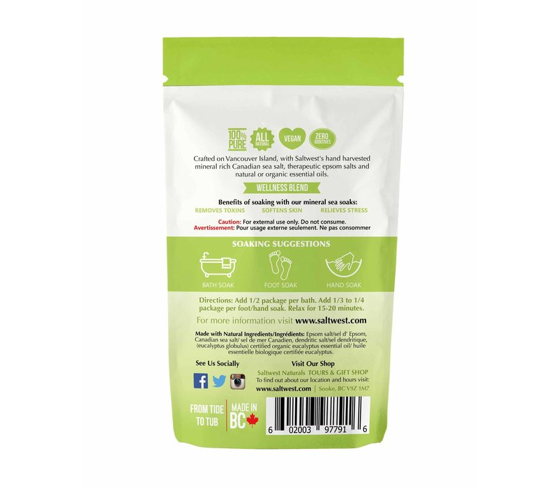 Organic Eucalyptus Bath Soak 70g