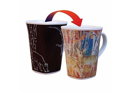 Color Changing Mug Serene Deer 16oz
