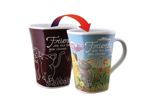 Color Changing Mug Friend 16oz