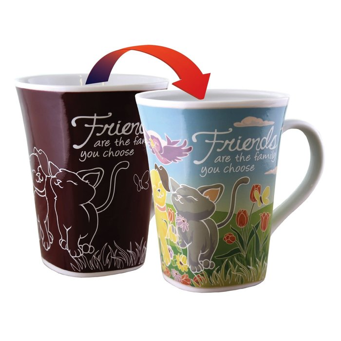 Color Changing Mug Friend 16oz