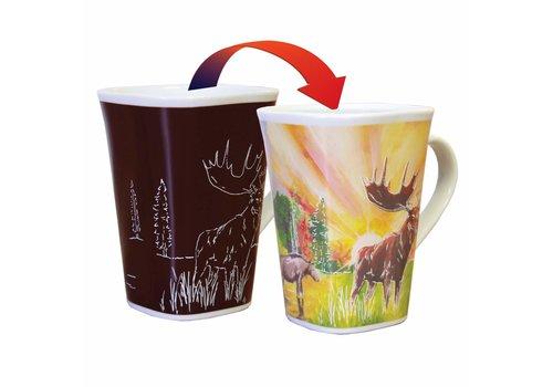 Color Changing Mug Moose 16oz