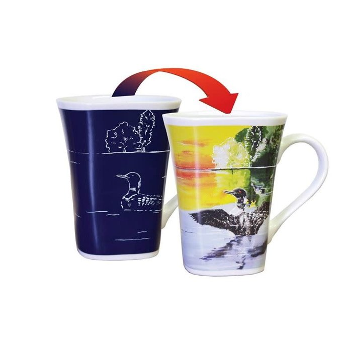 Color Changing Mug Loon 16oz