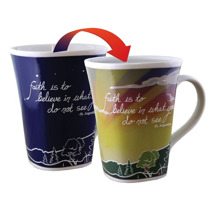 Color Changing Mug Faith 16oz