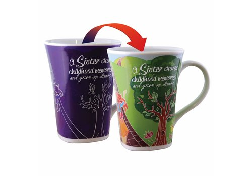 Color Changing Mug Sister 16oz