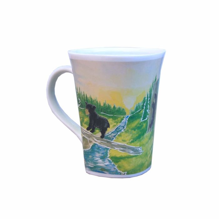 Color Changing Mug Adventurous Black Bear 16oz