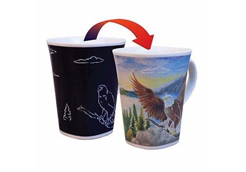 Color Changing Mug Soaring Eagle 16oz