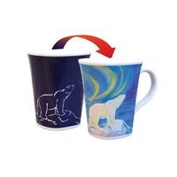 Color Changing Mug Majestic Polar Bear 16oz