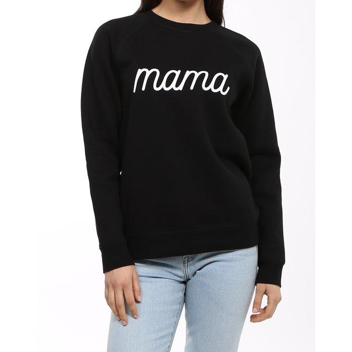 Mama Crew Cursive