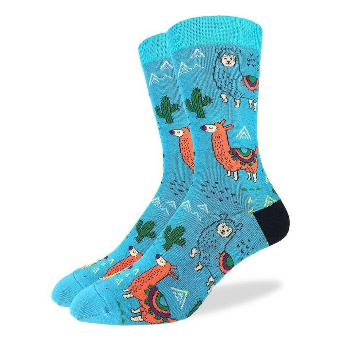 Men's Fun Llamas Socks