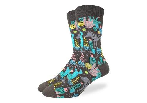 Good Luck Sock Men's Wolf Socks
