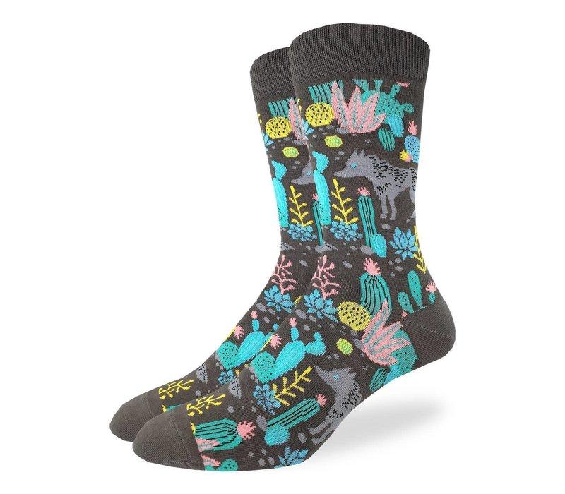 Men's Wolf Socks
