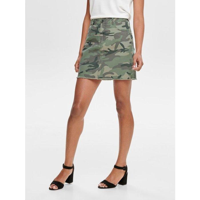 Rhonda Mid Camo Skirt