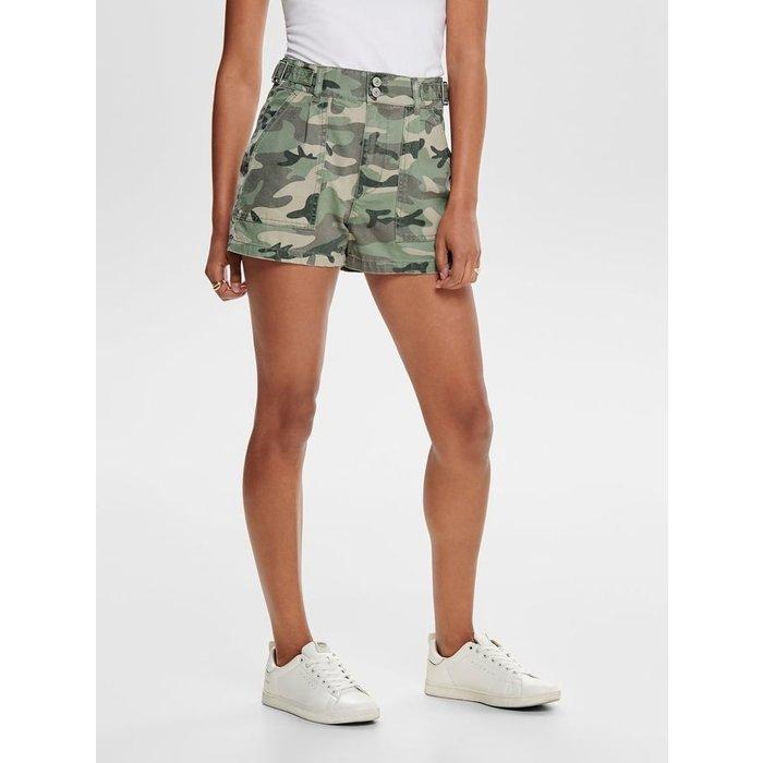 Rhonda Mid Camo Shorts