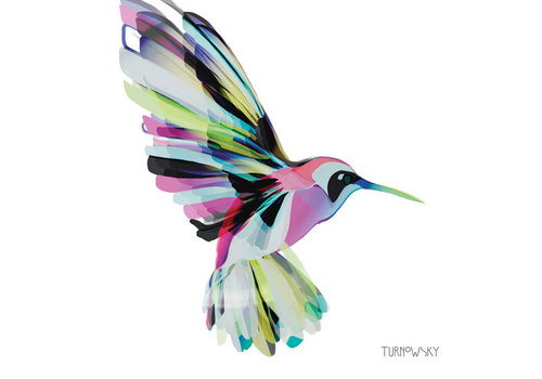 Napkin Corfu Hummingbird