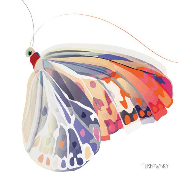 Napkin Corfu Butterfly