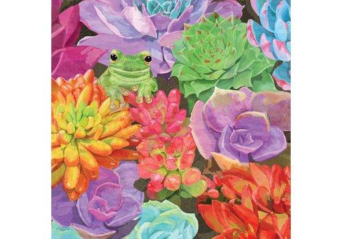 Napkin Desert Frog