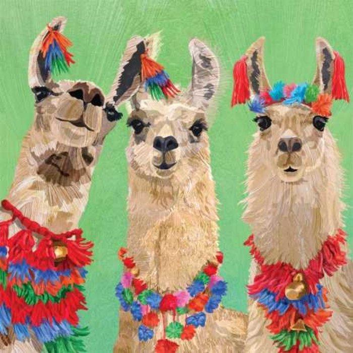 Lunch Napkin Llama Amigos