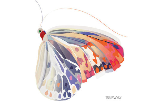 Lunch Napkin Corfu Butterfly