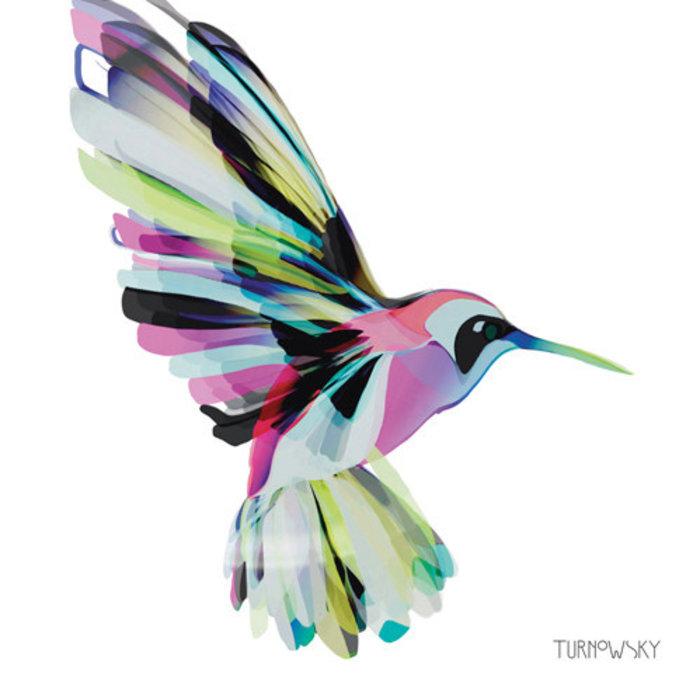 Lunch Napkin Corfu Hummingbird