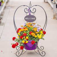 Welcome Planter Rack