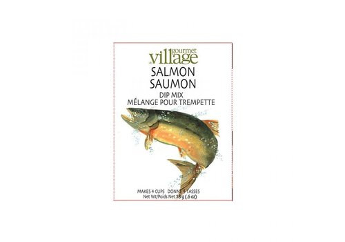 Gourmet Du Village Dip Recipe Box Salmon