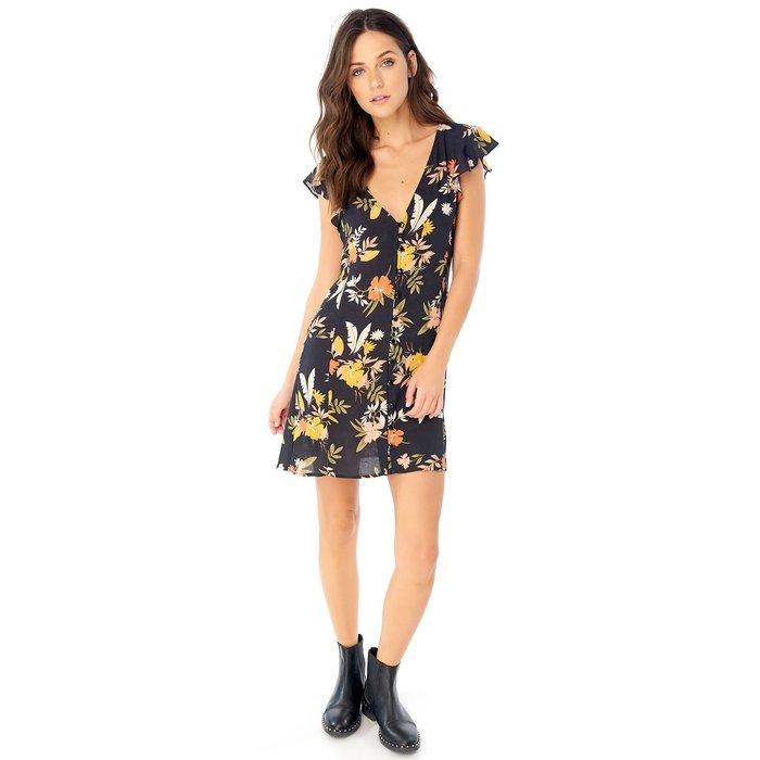 Button Front Mini Dress