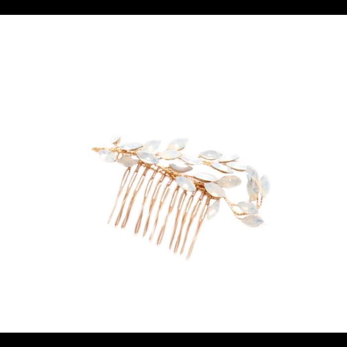 Goddess Hair Comb Gold