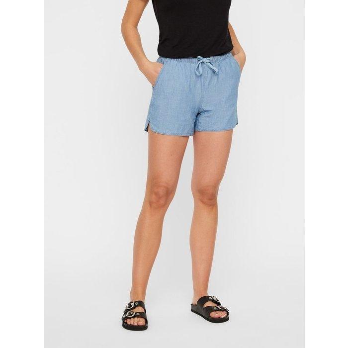 Maya Chambray Shorts