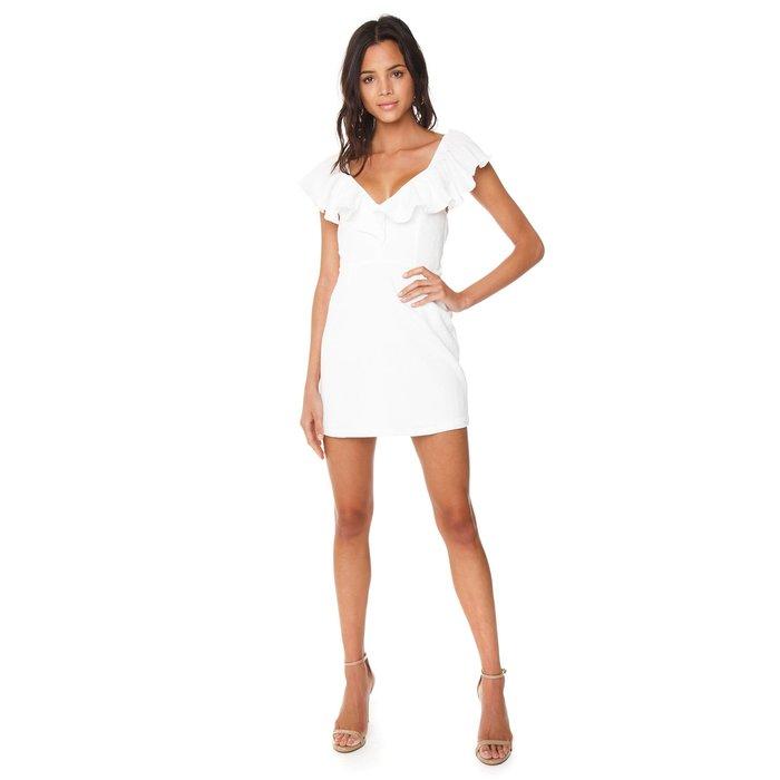 Frills Mini Dress
